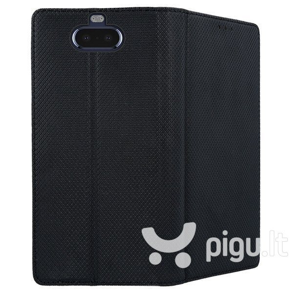 Mocco Smart Magnet Book Case, skirtas Xiaomi Note 8T, juodas internetu