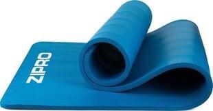 Коврик для йоги Zipro NBR, синего цвета цена и информация | Коврик для йоги Zipro NBR, синего цвета | pigu.lt