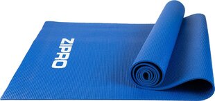 Gimnastikos kilimėlis Zipro PVC 173x61x0,4 cm, mėlynas kaina ir informacija | Gimnastikos kilimėlis Zipro PVC 173x61x0,4 cm, mėlynas | pigu.lt