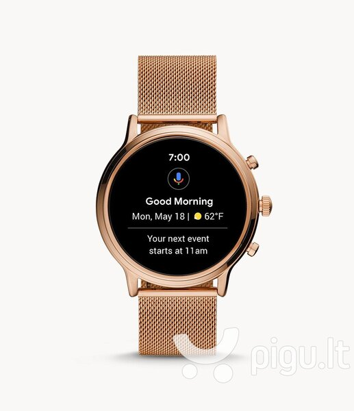 Fossil Gen 5 FTW6062, 44 mm, Rose Gold internetu