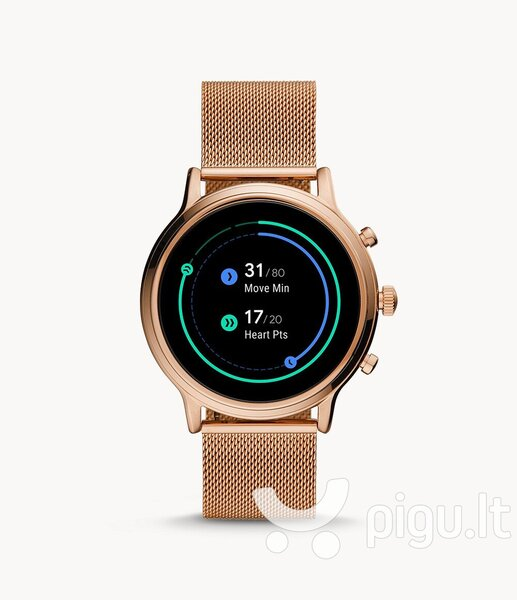 Fossil Gen 5 FTW6062, 44 mm, Rose Gold pigiau