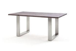 Valgomojo stalas MC Akcent Matras, 240x100 cm, tamsiai rudas kaina ir informacija | Virtuvės ir valgomojo stalai, staliukai | pigu.lt