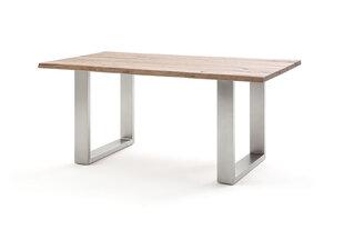 Valgomojo stalas MC Akcent Matras, 200x100 cm, rudas kaina ir informacija | Virtuvės ir valgomojo stalai, staliukai | pigu.lt