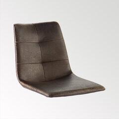 2-jų sėdynių komplektas kėdėms MC Akcent Alessia G, rudas kaina ir informacija | Priedai baldams | pigu.lt