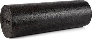Treniruočių cilindras - masažinis volelis Zipro Yoga, juodas kaina ir informacija | Treniruočių cilindras - masažinis volelis Zipro Yoga, juodas | pigu.lt