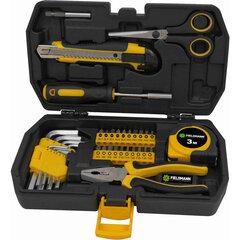 Įvairių įrankių rinkinys Fieldmann, 35 dalių kaina ir informacija | Mechaniniai įrankiai | pigu.lt