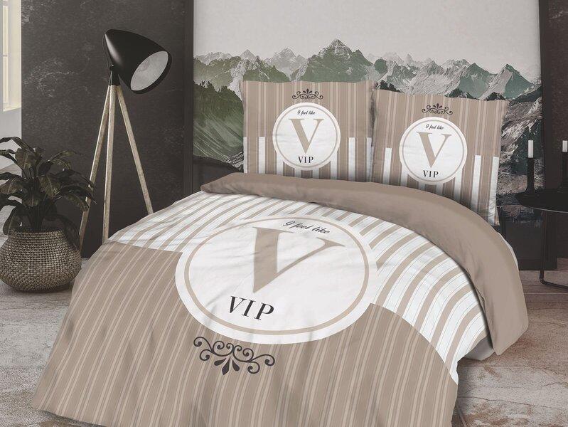 Patalynės komplektas VIP, 160x200 cm, 3 dalių kaina ir informacija | Patalynės komplektai | pigu.lt