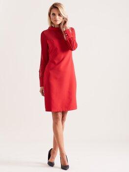 Suknelė moterims Sindy, raudona kaina ir informacija | Suknelės | pigu.lt
