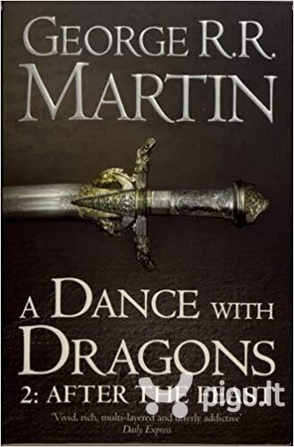 Dance With Dragons (Part Two): After the Feast : Book 5 of a Song of Ice and Fire kaina ir informacija | Fantastinės, mistinės knygos | pigu.lt