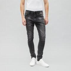 Pilki Slim Fit džinsai kaina ir informacija | Pilki Slim Fit džinsai | pigu.lt