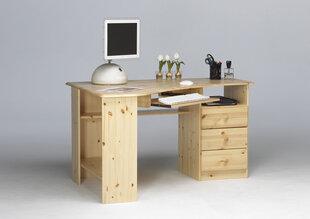 Rašomasis stalas Steens Kent 279, šviesiai rudas kaina ir informacija | Kompiuteriniai, rašomieji stalai | pigu.lt