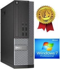 Dell 7020 SFF i5-4670 8GB 120GB SSD 500GB Windows 7 Professional kaina ir informacija | Dell 7020 SFF i5-4670 8GB 120GB SSD 500GB Windows 7 Professional | pigu.lt