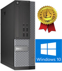 Dell 7020 SFF i5-4670 8GB 480GB SSD Windows 10 kaina ir informacija | Dell 7020 SFF i5-4670 8GB 480GB SSD Windows 10 | pigu.lt