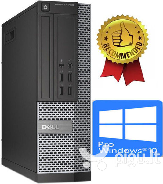 Dell 7020 SFF i5-4670 16GB 240GB SSD 2TB Windows 10 Professional