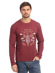 Vyriški marškinėliai ilgomis rankovėmis Street Industries цена и информация | Vyriški marškinėliai ilgomis rankovėmis Street Industries | pigu.lt