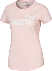 Puma Palaidinė Amplified Tee Pink kaina ir informacija | Sportinė apranga moterims | pigu.lt