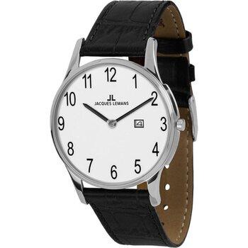 Laikrodis Jacques Lemans 1-1936D цена и информация | Мужские часы | pigu.lt