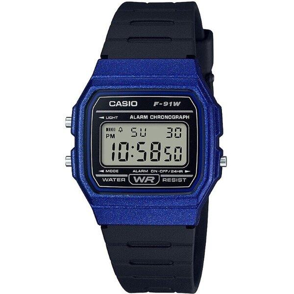 Laikrodis Casio F-91WM-2AEF kaina ir informacija | Moteriški laikrodžiai | pigu.lt