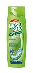 Šampūnas plaukams nuo pleiskanų Wash&Go, 400 ml kaina ir informacija | Šampūnai | pigu.lt