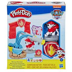 Plastilino rinkinys Play Doh Paw Patrol Marshall (Šunyčiai Patruliai) kaina ir informacija | Lavinamieji žaislai | pigu.lt