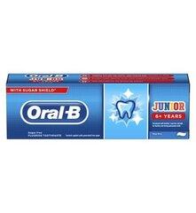 Dantų pasta vaikams ORAL B Junior 6+ 75 ml kaina ir informacija | Dantų pasta vaikams ORAL B Junior 6+ 75 ml | pigu.lt