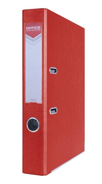 Segtuvas su metaliniu apvadu A4 50mm, raudonas