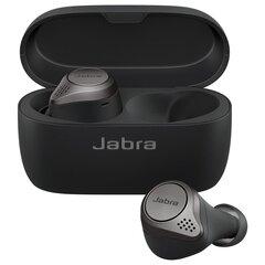 Jabra Elite Active 75t, Titanium Black kaina ir informacija | Ausinės, mikrofonai | pigu.lt
