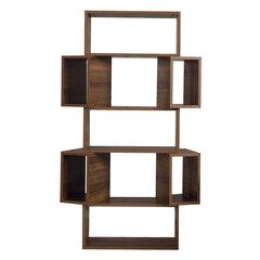 Pastatoma lentyna Kalune Design Box, tamsiai ruda kaina ir informacija | Lentynos | pigu.lt