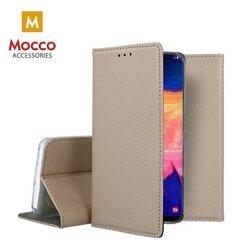 Mocco Smart Magnet Book Case For Apple iPhone SE 2020 Gold kaina ir informacija | Telefono dėklai | pigu.lt