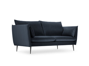 Sofa Micadoni Home Agate 2S, tamsiai mėlyna kaina ir informacija | Sofa Micadoni Home Agate 2S, tamsiai mėlyna | pigu.lt