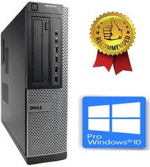 Dell Optiplex DT 790 i5-2400S 16GB 960GB SSD 2TB HDD Windows 10 Pro kaina ir informacija | Stacionarūs kompiuteriai | pigu.lt