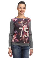 Pilkas džemperis moterims Gaudi kaina ir informacija | Džemperiai moterims | pigu.lt