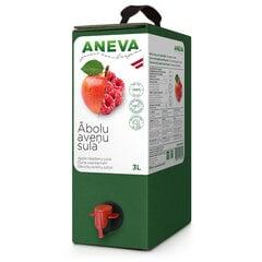 Natūralios obuolių-aviečių sultys Aneva J, 3 l kaina ir informacija | Sultys, nektarai ir sulčių gėrimai | pigu.lt