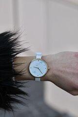 Laikrodis Pilgrim, baltas kaina ir informacija | Moteriški laikrodžiai | pigu.lt