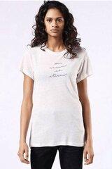 Šviesiai rausvi marškinėliai Diesel kaina ir informacija | Marškinėliai moterims | pigu.lt