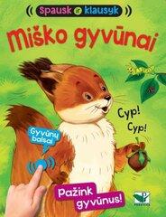 Spausk ir klausyk. Miško gyvūnai цена и информация | Spausk ir klausyk. Miško gyvūnai | pigu.lt