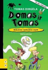 Domas ir Tomas. Mokyklos vaiduoklio mįslė kaina ir informacija | Domas ir Tomas. Mokyklos vaiduoklio mįslė | pigu.lt