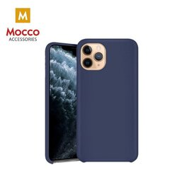 Mocco Ultra Slim Soft Matte 0.3 mm Silicone Case for Apple iPhone XS MAX Blue kaina ir informacija | Telefono dėklai | pigu.lt