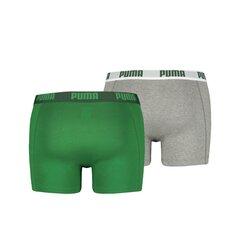 Žalios/pilkos spalvos vyriškos trumpikės Puma Basic Boxer kaina ir informacija | Trumpikės | pigu.lt