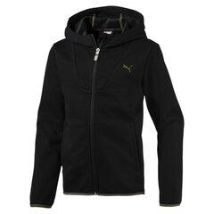 Juodos spalvos vaikiškas laisvalaikio džemperis Puma Tech FZ Hoody kaina ir informacija | Megztiniai, bluzonai, švarkai berniukams | pigu.lt