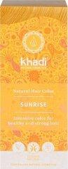 Augaliniai šviesių ar žilų plaukų dažai Sunrise Khadi Naturprodukte, 100 g kaina ir informacija | Plaukų dažai | pigu.lt