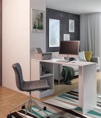 Rašomasis stalas ADRK Furniture Jack, baltas kaina ir informacija | Kompiuteriniai, rašomieji stalai | pigu.lt