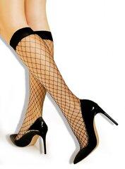 Tinklinės puskojinės Lores Nana, juodos kaina ir informacija | Moteriškos kojinės | pigu.lt