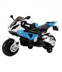 Vienvietis vaikiškas elektrinis motociklas BMW S1000RR, mėlynas kaina ir informacija | Elektromobiliai vaikams | pigu.lt