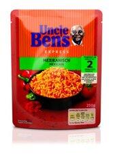 Paruošti ryžiai UNCLE BENS Mexican, aštrūs, 250g kaina ir informacija | Kruopos, dribsniai, košės | pigu.lt