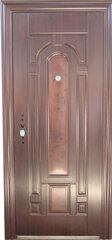 Plieninės lauko durys AQ-12 kaina ir informacija | Lauko durys | pigu.lt