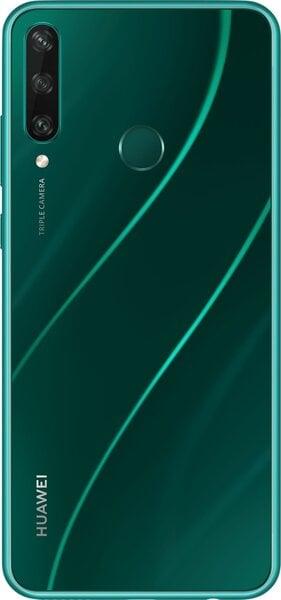 Huawei Y6P, 64 GB, Dual SIM, Emerald Green kaina