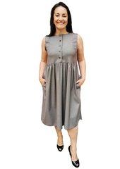 Suknelė sarafanas Branchess, pilka kaina ir informacija | Suknelės | pigu.lt