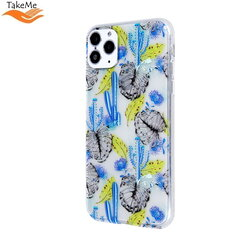 "TakeMe Trendy ultra thin TPU back cover case for Xiaomi Redmi 8 ""Time 2"" kaina ir informacija 