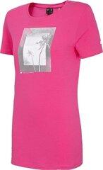Sportiniai marškinėliai moterims 4F kaina ir informacija | Sportinė apranga moterims | pigu.lt